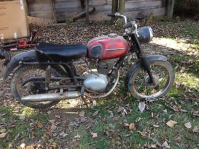 Other Makes : 106SS Sears Gilera 106SS, red tank, black frame