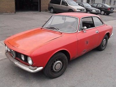 Alfa Romeo : GTV GT 1750 VELOCE  1969 alfa romeo 1750 gt veloce barn find solid runs excellent project