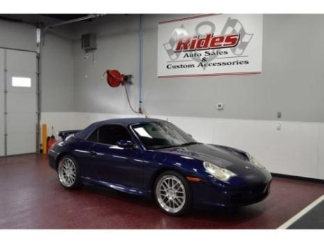 Porsche : 911 Carrera Blue 2002 Porsche 911 Carrera Automatic 2-Door Convertible