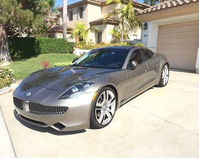 Fisker : Karma EcoSport Sedan 4-Door Most Gorgeous Fisker