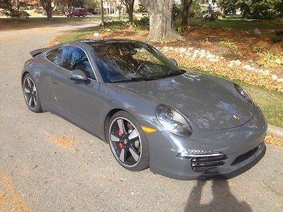 Porsche : 911 50th Anniversary Edition 2014 graphite gray porsche 911 50 th anniversary edition