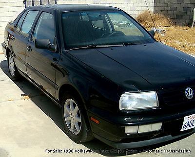 Volkswagen : Jetta GLS Volkswagen 1998 Jetta GLS Sedan 4 Door Leather Interior CD MP3 Player Black