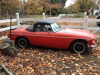 MG : MGB chrome 1973 mgb