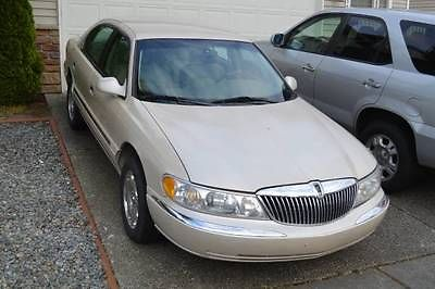 Lincoln : Continental Base Sedan 4-Door 1999 lincoln continental base sedan 4 door