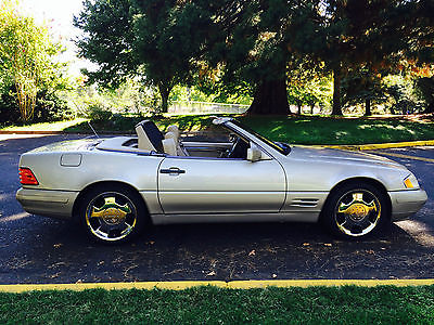 Mercedes-Benz : SL-Class SL500 Convertible Pristine 1996 Mercedes Benz SL500 Very Low Miles dealer only maintained
