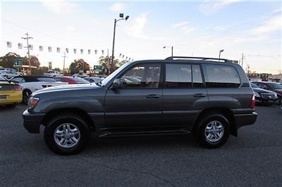 Lexus : LX 4dr SUV 1999 lexus lx 470 one owner low miles dealer serviced runs like new best deal