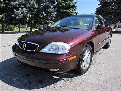 Mercury : Sable 4dr Sedan LS Premium 4 dr sedan ls premium action or auction automatic gasoline 3.0 l v 6 cyl