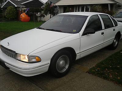 Chevrolet : Caprice CAPRICE CLASSIC LS 1996 chevrolet caprice classic ls 5.7 l v 8 0 nly 112 k 1 owner miles