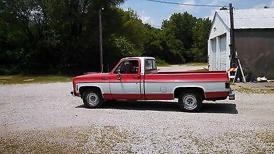 GMC : Sierra 1500 Pickup Truck 1979 gmc 1500 sierra classic 5.7 l diesel 12 445 miles look