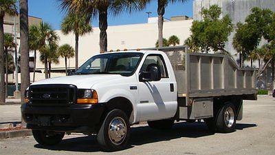 Ford : F-450 SUPER DUTY 450XL 2001 ford f 450 super duty xl power stoke diesel 12 ft aluminum hydraulic dump bed