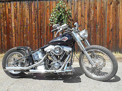 Custom Built Motorcycles : Other 2003 edelbrock heritage softail spcn special construction for repair or parts