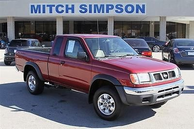 Nissan : Frontier FRONTIER KING CAB V6 AUTO  GREAT CARFAX  NO ACCIDE 2000 nissan frontier king cab v 6 auto great carfax no accidents