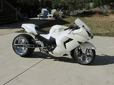 Kawasaki : Ninja 2006 kawasaki zx 14 360 kit custom bike custom paint show bike stretched