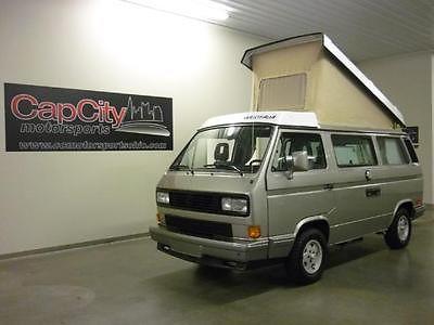 Volkswagen : Bus/Vanagon Camper GL GORGOEUS 1990 Volkswagen Vanagon FULL WESTFALIA CAMPER! Flash Silver!!