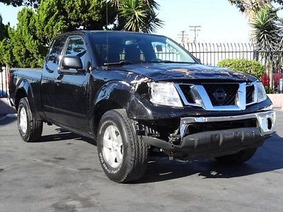 Nissan : Frontier SV King Cab 4WD 2011 nissan frontier sv king cab 4 wd repairable project salvage damaged wrecked