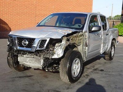 Nissan : Frontier 4WD CrewCab 2014 nissan frontier 4 wd crewcab damaged repairable salvage fixable wrecked save
