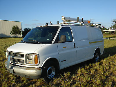 Chevrolet : Express CARGO 1997 chevy express 1500 cargo van 4.3 v 6 automatic cold air only 134 k miles