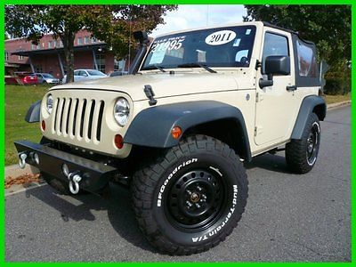 Jeep : Wrangler 2011 Sport Wrangler Jeep LOCAL TRADE! WE FINANCE!! AWESOME JEEP!!! 2011 Sport Used 3.8L V6 12V Manual SUV  Steel Bumpers CD AM FM