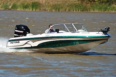 2008 NITRO 288 SPORT FISH+SKI 200HP *HD PICS* ONLY 50 HRS