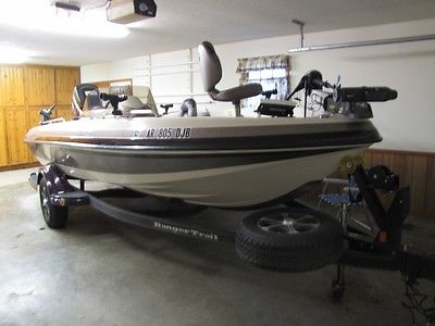 2010 RANGER Fishing Boat 1860VS w/ Matching Trailer 175hp Mercury Motor w/Kicker