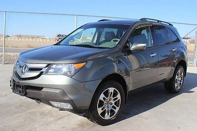 Acura : MDX Tech Package 2007 acura mdx tech pkg damaged rebuilder loaded priced to sell export welcome