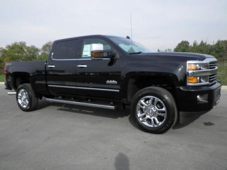 Chevrolet : Silverado 2500 HIGH COUNTRY AFTER SEPTEMBER BUILD 2500 SILVERADO HIGH COUNTRY BLACK DURAMAX  PLUS 20