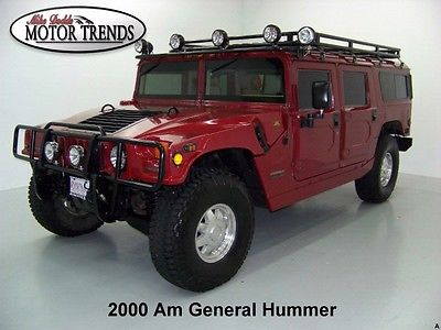 Hummer : H1 4WD DIESEL WAGON CTIS 2000 am general h 1 gm turbo diesel wagon brushguard safari rack lights ctis 65 k