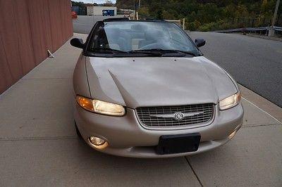 Chrysler : Sebring Jxi 1999 chrysler sebring jxi fwd 2.5 l v 6 sfi sohc 24 v 30 k conv owner warranty