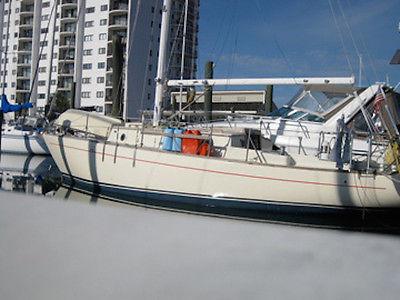 31 foot custom-built sailboat