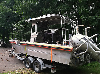 Metal Shark 24' Relentless Ex Coast Guard Aluminum Work Boat