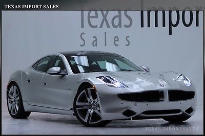 Fisker : Karma 2012 fisker karma signature edition only 7 k miles silver canyon
