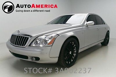 Maybach : 57 S 2008 maybach 57 s 51 k mile vent seat nav sunroof rearcam adapt cruise cln carfax