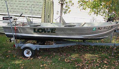 Lowe 12' 1256 V Hull 2008 Alum Boat, Bandit Trailer, Johnson 4H 2-Stroke Motor