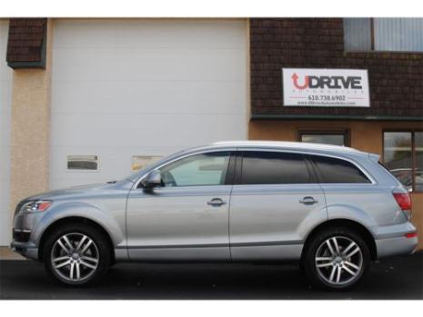 Audi : Q7 4.2 quattro WARRANTY 4.2 PRESTIGE Nav Cam Advanced Key 20s 3rd Row Bose Sat iPod WE FINANCE