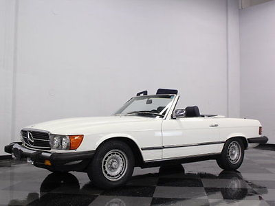 Mercedes-Benz : Other VERY CLEAN 380SL, ONLY 84K ORIGINAL MILES, LOTS OF SERVICE HISTORY, BOTH TOPS!