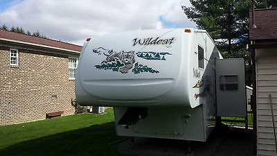 2005 FOREST RIVER Wildcat 5th Wheel Travel Trailer RV Camper Excellent Condition