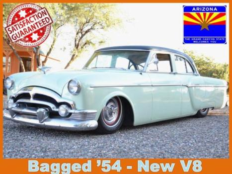 Packard Clipper Classic Bagged Vintage 50s Packard Show Sled Rat Rod Custom V8 Air Bags Low