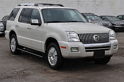 Mercury : Mountaineer Premier Sport Utility 4-Door Only 85K Navigation Leather Sunroof 3rd Row Keyless Parking Sensors