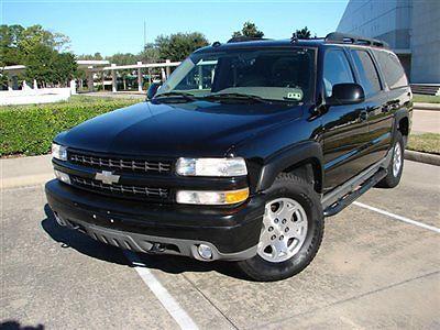 Chevrolet : Suburban 4dr 1500 4WD Z71 Z71 4X4,DVD,AM/FM,CD,HEATED SEATS, LTH SEAT,3RD ROW SEATS, SNRF,RUNS GR8!!