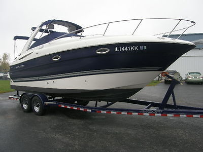 Monterey 270 Sport Cruiser Boat 5.7 L GXI Volvo Engine Heritage Trailer Included