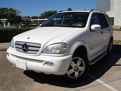 Mercedes-Benz : M-Class ML500 4MATIC 4dr 5.0L ML-500, SPECIAL EDITION, NAVI, WOOD TRIM, LTH SEATS, SNRF, CLEAN RUNS GR8!!