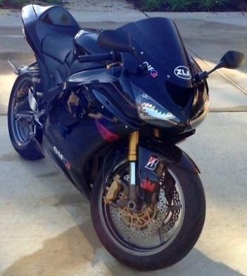 Kawasaki : Ninja 2005 kawasaki zx 6 r 636 cc black