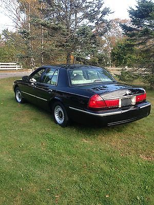 Mercury : Grand Marquis LS 2001 mercury grand marquis ls black 4 door sedan low miles estate car