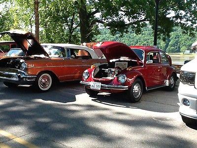 Volkswagen : Beetle - Classic two door Superbeetle 1971 vw superbeetle car deep crimson color carshow quality