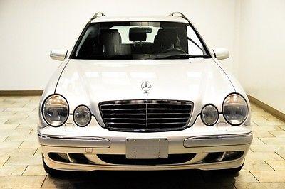 Mercedes-Benz : E-Class E320 WAGON 2002 mercedes benz e 320 wagon 4 matic awd low miles warranty