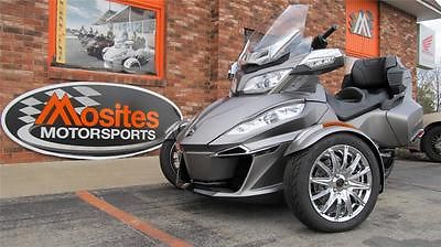 Can-Am : Spyder RT Limited NEW 2014 Can-Am Spyder RT Limited SE6 in Silver. Comes with everything seen here