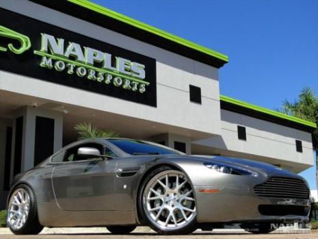 Aston Martin : Vantage Base Hatchback 2-Door 2007 aston martin vantage 6 speed manual vossen wheels 15 k deviated stitching