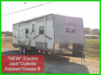 2014 RIVERSIDE 27RBSK~SLIDE~31FT~OUTSIDE KITCHEN~ELECTRIC JACK~NEW RV/TRAILER