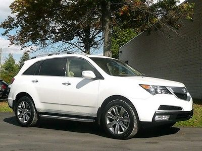 Acura : MDX AWD Advance Advance AWD 3rd Row Nav DVD Htd & AC Seats Moonroof 19in Alloys Must See Save