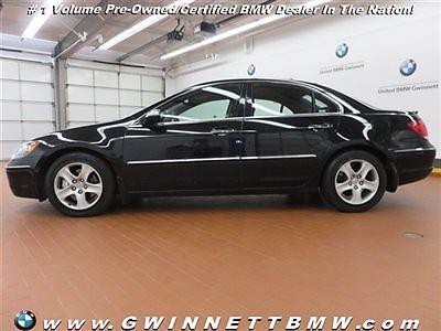 Acura : RL W/TECH PKG W/TECH PKG 4 dr Sedan Automatic Gasoline 3.5L V6 Cyl Nighthawk Black Pearl